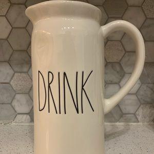 Rae Dunn Drink Pitcher